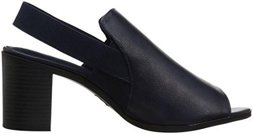 Gore Street Easy Navy Heeled Jetson Sandal Women's xzwRUqARY