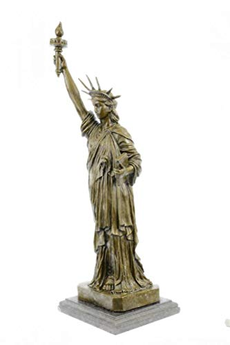 Liberty Is Lovely Lady >> Amazon Com Lovely Lady Liberty Hot Cast Bronze Sculpture Female