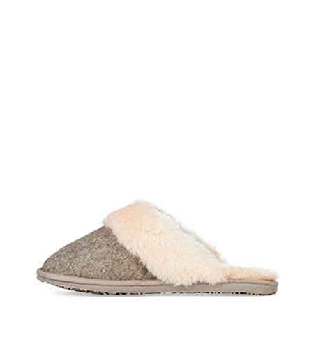 In W101047 Sand Lana Emu Pantofole Womens Felt Merino Marle wzO5UYx