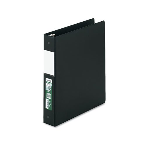 Samsill Clean Touch Antimicrobial - Samsill Clean Touch Antimicrobial Locking Round Ring Binder, Ltr Size, 1-1/2