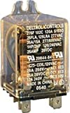 "Deltrol Controls, 275 Series 35 Amp Power Relay, Material: All Contacts 1/4"" Silver Cadmium Oxide, Dimensions: 2.35""H x 2.53""W x 1.5""D"