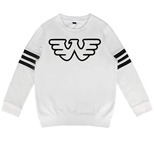04e8d2f80 HGT-YUS Baby Boy's Crewneck Cotton Long Sleeve Waylon-Jennings-Black-Logo