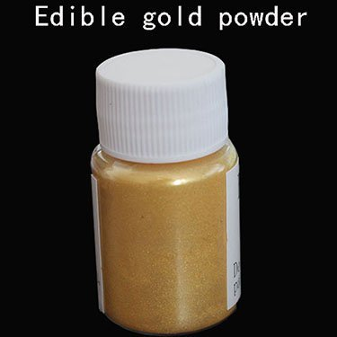 Amazon.com: 10 Gram Gold Edible Cake Food Powder Coloring To Decorate Chocolate Fondant Decoration Arts food grade ,Fondant pigment: Arts, Crafts & Sewing