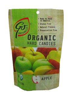 GoNaturally ORGANIC HARD CANDIES (Apple) (1 x 3.5 (Apple Organic Candy)