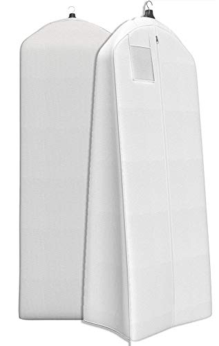 "Women's Dress and Gown Garment Bag - 72""x24"" with 20"" Tapered Gusset -"