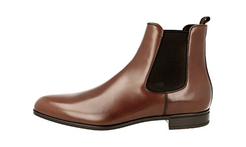 Prada Men's 2TC039 E18 F0038 Leather Half-Boot 3lO1kqLk