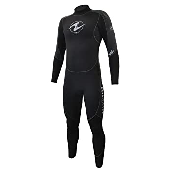 Image of Aqualung 7mm Mens Black/Charcoal ML Wetsuits