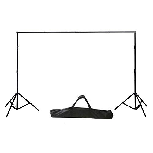 Ephoto Photography Video - ePhoto Photography Video Backdrop Background Heavy Duty Support Stand with Case for Chromakey or Muslin by ePhotoInc H30