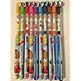 Set of 10 Scented Pencils with All Favorite Amazing Flavors