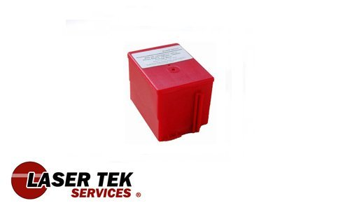 Laser Tek Services Compatible Ink Cartridge Replacement for Pitney Bowes 765-9 (Red, 1-Pack)