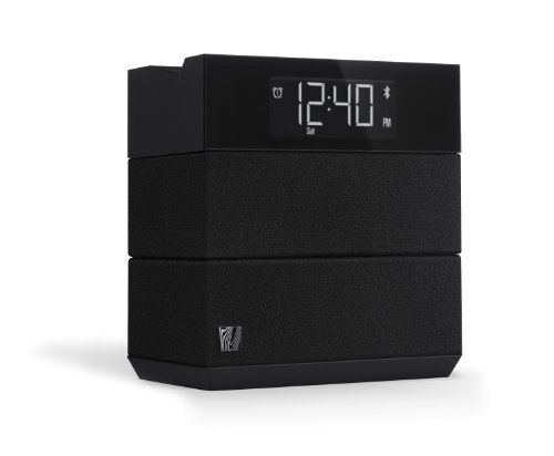 (Soundfreaq Sound Rise Black (SFQ-08) Wireless Bluetooth Speaker + Alarm Clock with FM Radio and USB Charger )