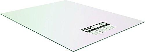 Clear Optix Crystal (Optix 1AG1195A Polyfilm, 0.1 in T, 48 in W x 96 in L, Crystal Clear, Acrylic)