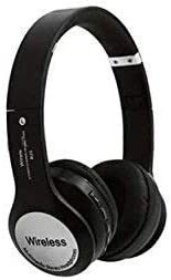 JOKIN B20 Wireless Bluetooth Headphone with FM and SD Card Slot (Black) Mobile Phone Bluetooth Headsets at amazon