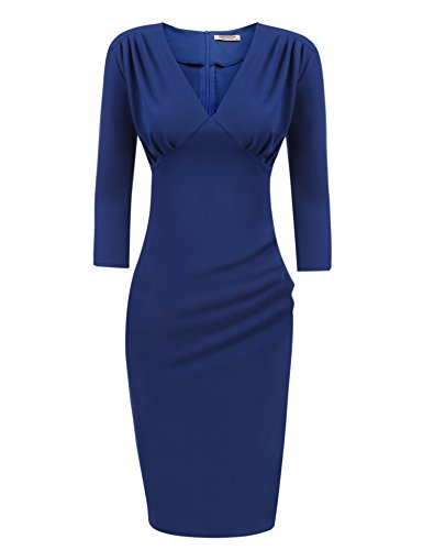 HOTOUCH Womens V Neck Sleeve Bodycon product image