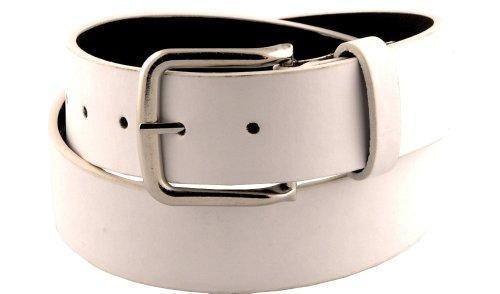 thick white belt - 8