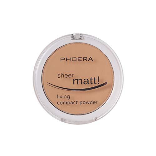 Hot Dream_mimi Powder concealer matte pearl powder powder 8 colors, ladies beauty cushion liquid foundation (D) by Dream_mimi (Image #3)