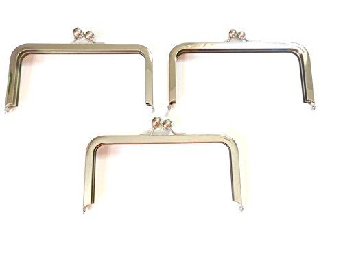 Clutch/Modern Purse Frame 3 Pack (GOLD) ()