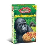 Kidz ORGANIC Gorilla Munch Cereal (Case Count: 12 per case) (Case Contains: 120 OZ) (Item Size: 10 OZ) ()