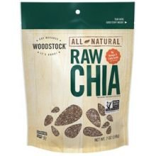 Woodstock Raw Chia Seeds, 7 Ounce - 6 per case.