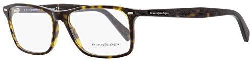 Ermenegildo Zegna Rectangular Eyeglasses EZ5069 052 Dark Havana 55mm 5069 from Ermenegildo Zegna