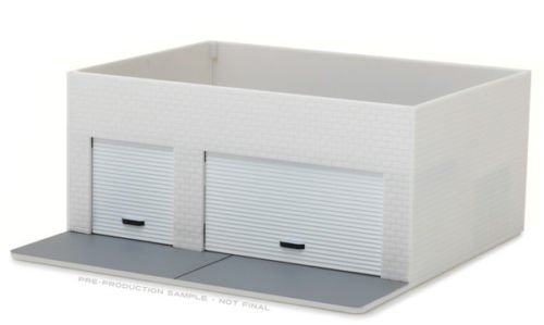 BRAND NEW 1:64 WHITE COLOR MECHANIC'S CORNER - WEEKEND WORKSHOP 57015 BY GREENLIGHT