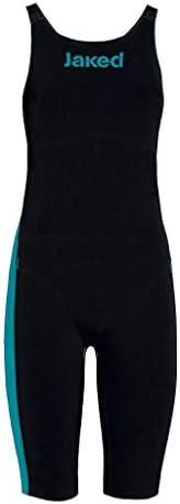Jaked J-Keel Knee Suit Closed Back Black/Turquoise イギリスサイズ26