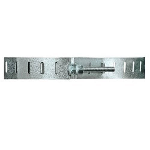 Holdrite QS-50-S Galvanized Water Heater Straps with Wall Spacers
