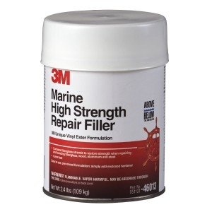 3M Marine High Strength Repair Filler (1 Quart)