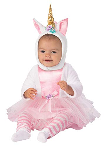 Rubie's Kid's Opus Collection Lil Cuties Little Unicorn Tutu Baby Costume, As Shown, ()