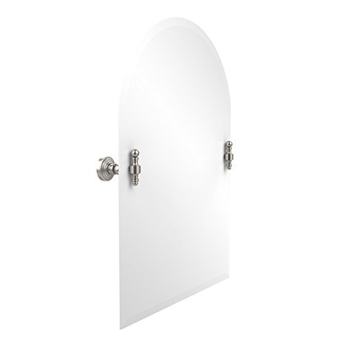Allied Brass PQN-91-SN 21-Inch X 26-Inch Oval Tilt Mirror, Satin Nickel by Avondale Dcor, LLC (Home Improvement) [並行輸入品] B018A1MIQY