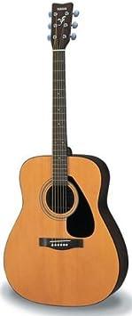 Yamaha F310P - Kit de guitarra acústica, color Marrón (Natural)