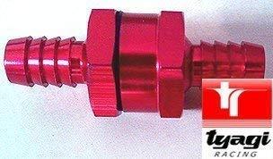 Tyagi Racing 5//16 inch Non Return Valves 8mm