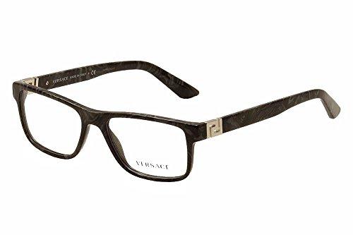 Versace VE3211 Eyeglass Frames 5145-55 - Grey Marble - Versace Frames Mens