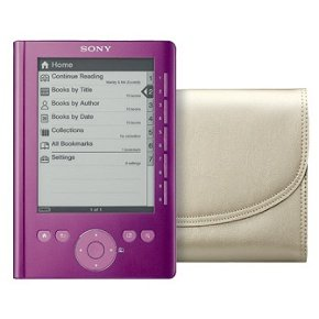 Sony PRS-300RC Pink Reader Pocket Edition Breast Cancer Foundation Reader