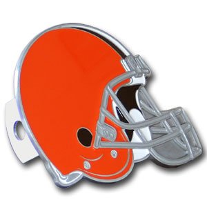 Cleveland Browns Pewter Logo Trailer Hitch Cover