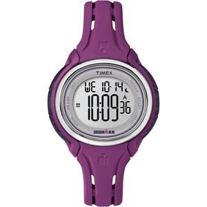 Price comparison product image The Amazing Quality Timex Ironman Sleek 50-Lap Mid-Size Watch - Plum