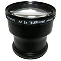 Tokina Pro 3x Telephoto Lens Converter - for 52mm threading (Black)