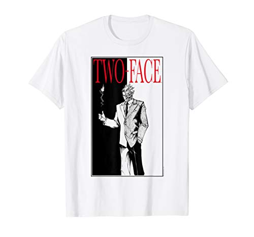 Batman Two-Face T Shirt (Batman The Animated Series Harley And Ivy)