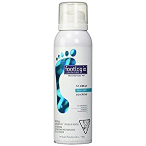 Footlogix DD Cream Mousse Formula, 4.23 Ounce
