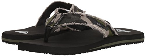Pictures of Quiksilver Men's Monkey Abyss Three-Point Sandal 12 M US 4