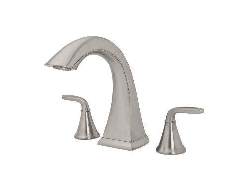Pasadena Two Handle Deck Mount Roman Tub Faucet