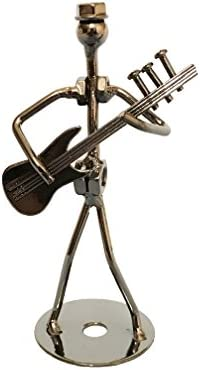 Amazon Com 5 Metal Musician Player Collectible Figurine Electric Guitar Player Home Kitchen