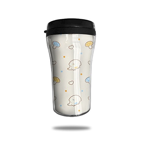 CUP HOME Cute Cartoon Hedgehog Mushrooms Adults Children Insulation Heat Insulation Travel Thermos Coffee Mug Small Convenient To - Prescription Glasses Miami