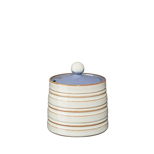 - Denby USA Heritage Fountain Covered Sugar Bowl, Multicolor
