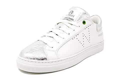 Sneaker Snik Bianco Womsh 2017 argento 7XH8wq