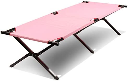 Magshion 74 Lightweight Portable Folding Camping Hiking Bed Cot with Bag Up to 250 lbs