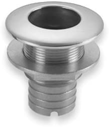 "1-1//4/"" Threaded Stainless Steel Marine Thru Hull Fitting Boat Intake Strainer"