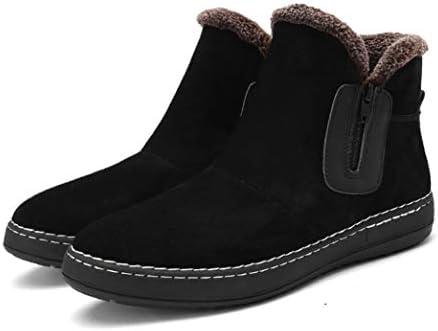 スノーブーツ 防滑 防水 デザートブーツ 人気 メンズ ショートブーツ 革靴 安定感 裏起毛 カジュアル 日常 ハイカット通勤 レトロ 安定感 ハイキング ブラック おしゃれ 歩きやすい マーティンブーツ