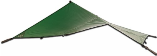 Aqua-Quest The Mummy Combo 2-pc Camping System - 100% Waterproof - 13 x 10 ft Large Guide Tarp - Green by Aqua Quest (Image #1)