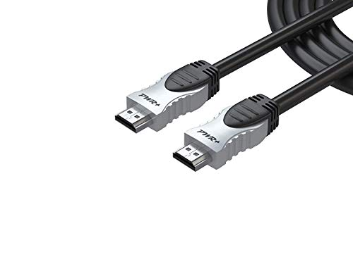 - Pwr 3 Ft 4K HDMI 2.0 Cable for PS3 PS4 Xbox 360 Apple-TV Laptop Projector Computer Monitor PC: High-Speed Latest Version Max Resolution Ultra Full HD 2160p 1080P Ethernet 3D Audio Return